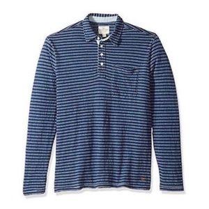 True Grit Men's Stripe Long Sleeve Shirt